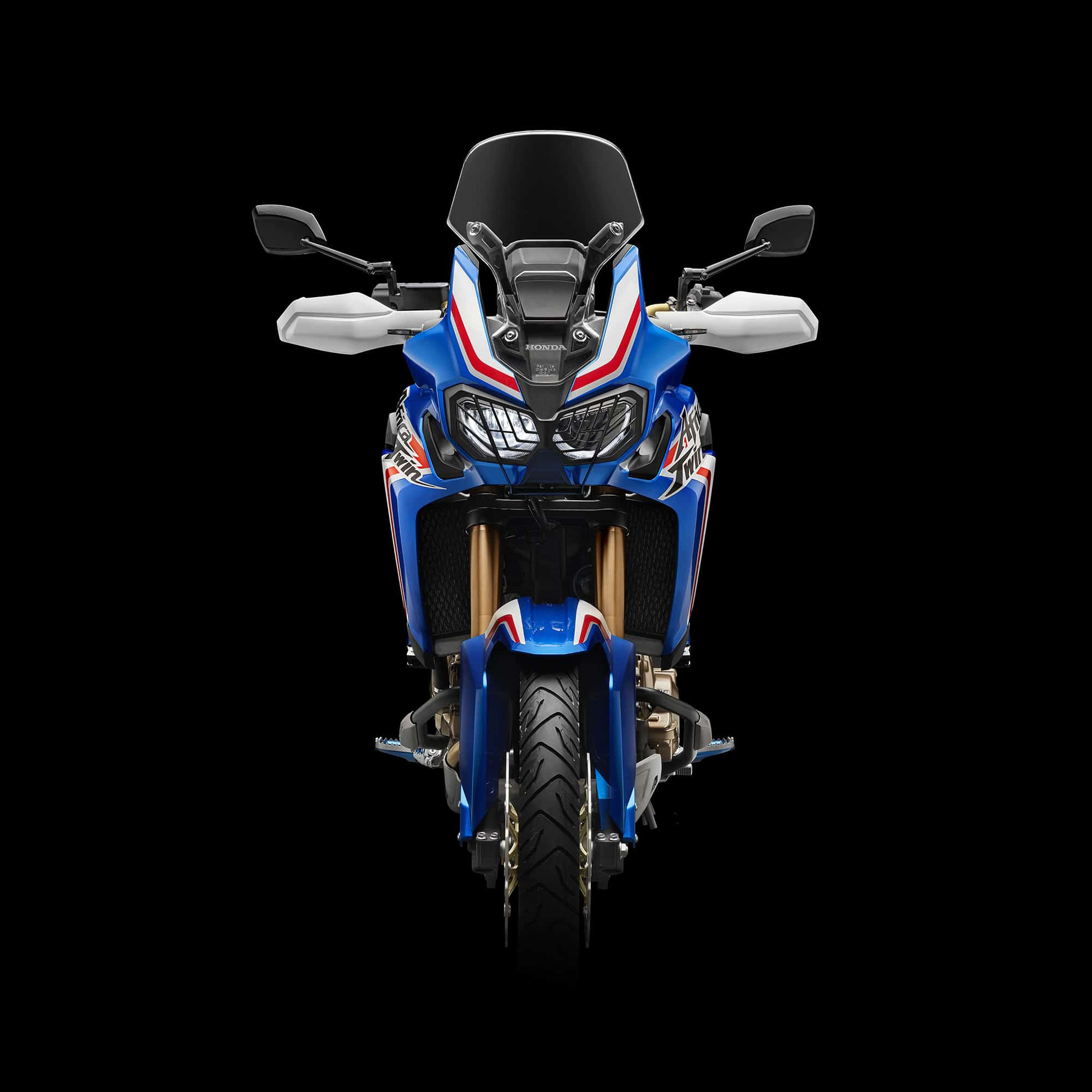 Africa Twin Moto Blu by Honda Automotive Shot by Fotografando