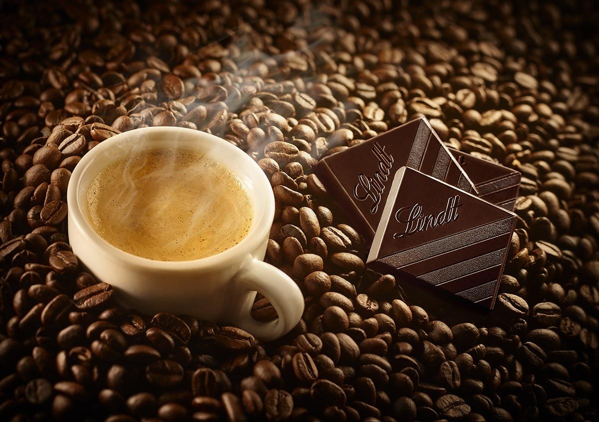 Lindt Tavoletta Cioccolato Caffè Food Shot by Fotografando