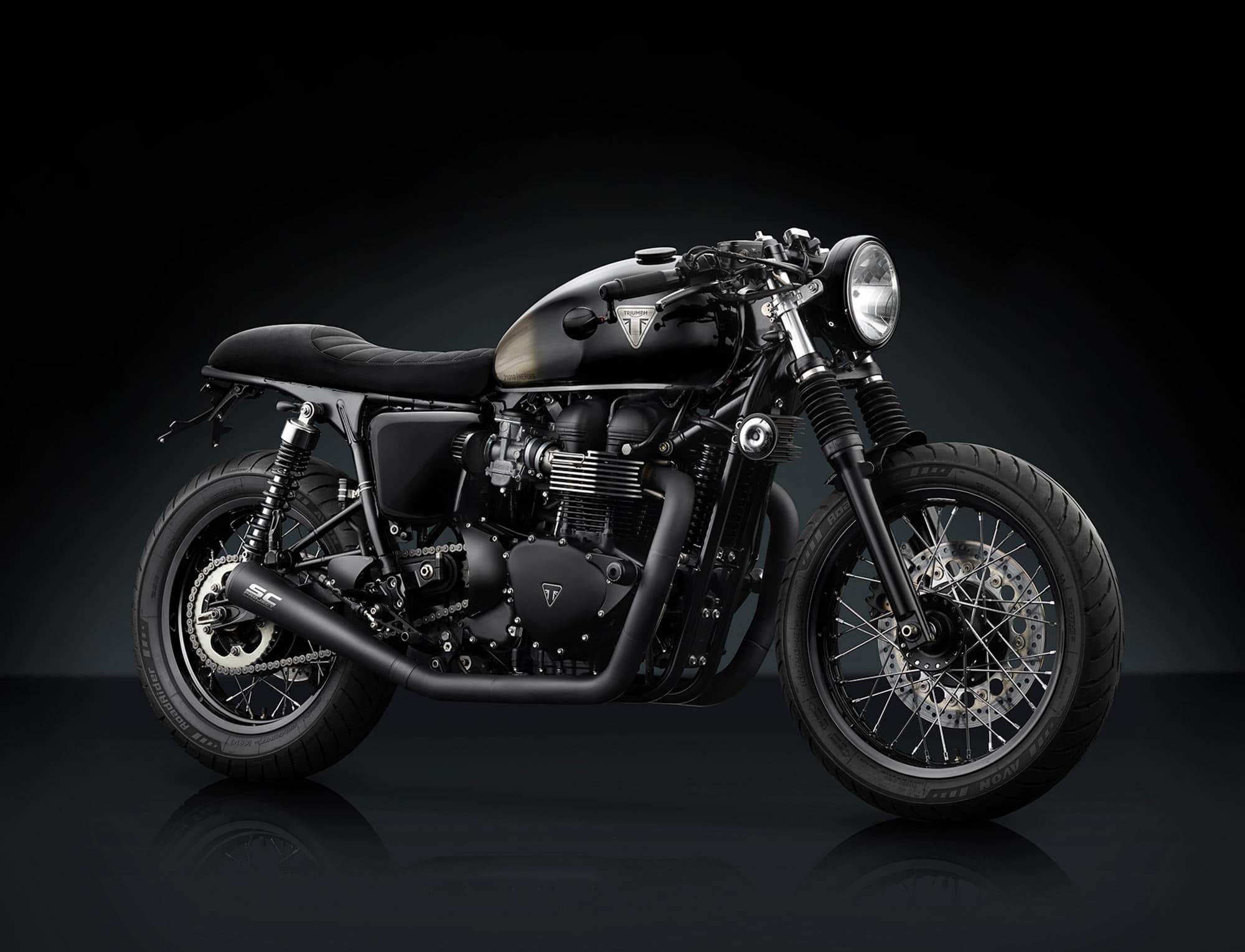Triumph Automotive Shot by Fotografando