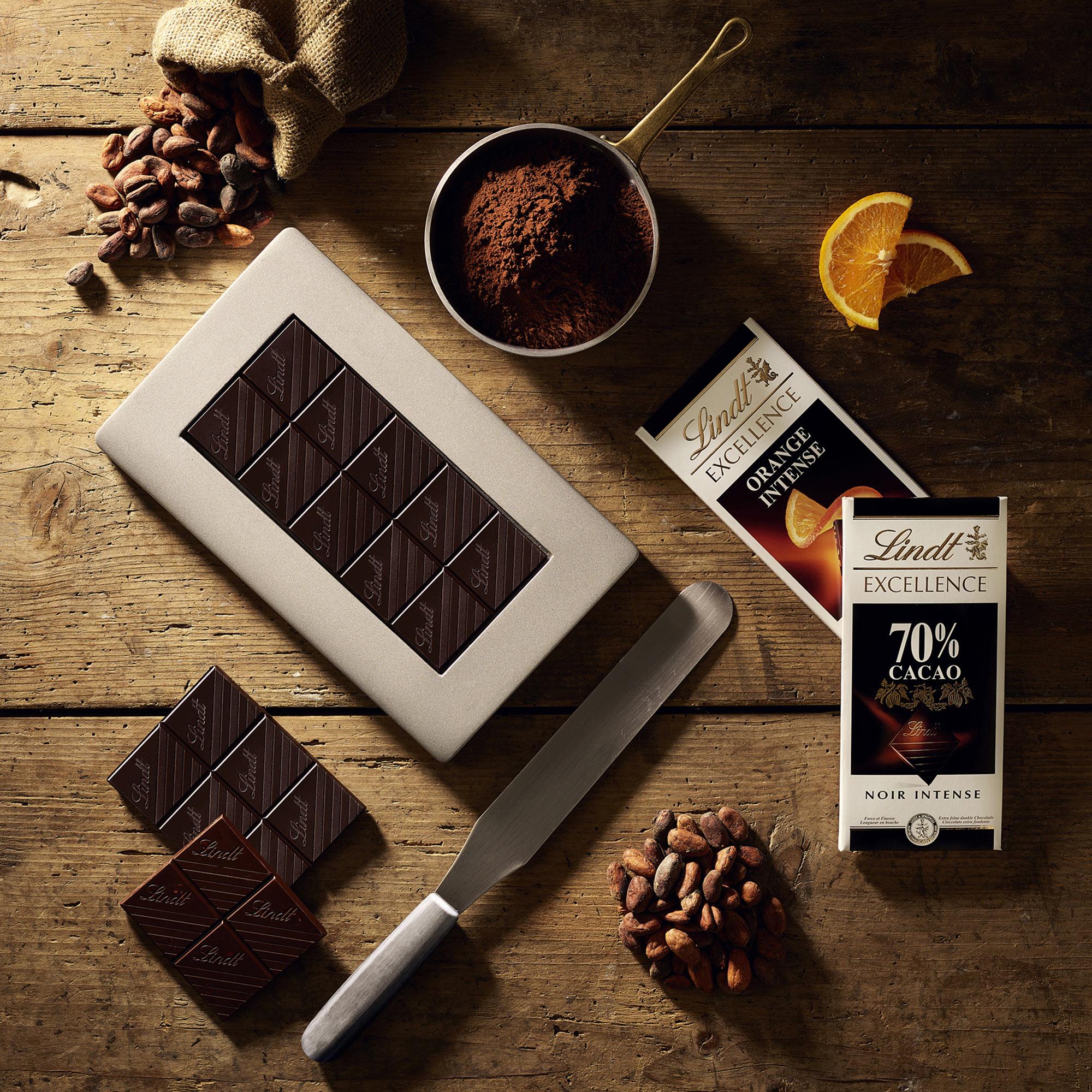 Lindt Cioccolato Tavoletta Fondente Excellence Cacao Arancia