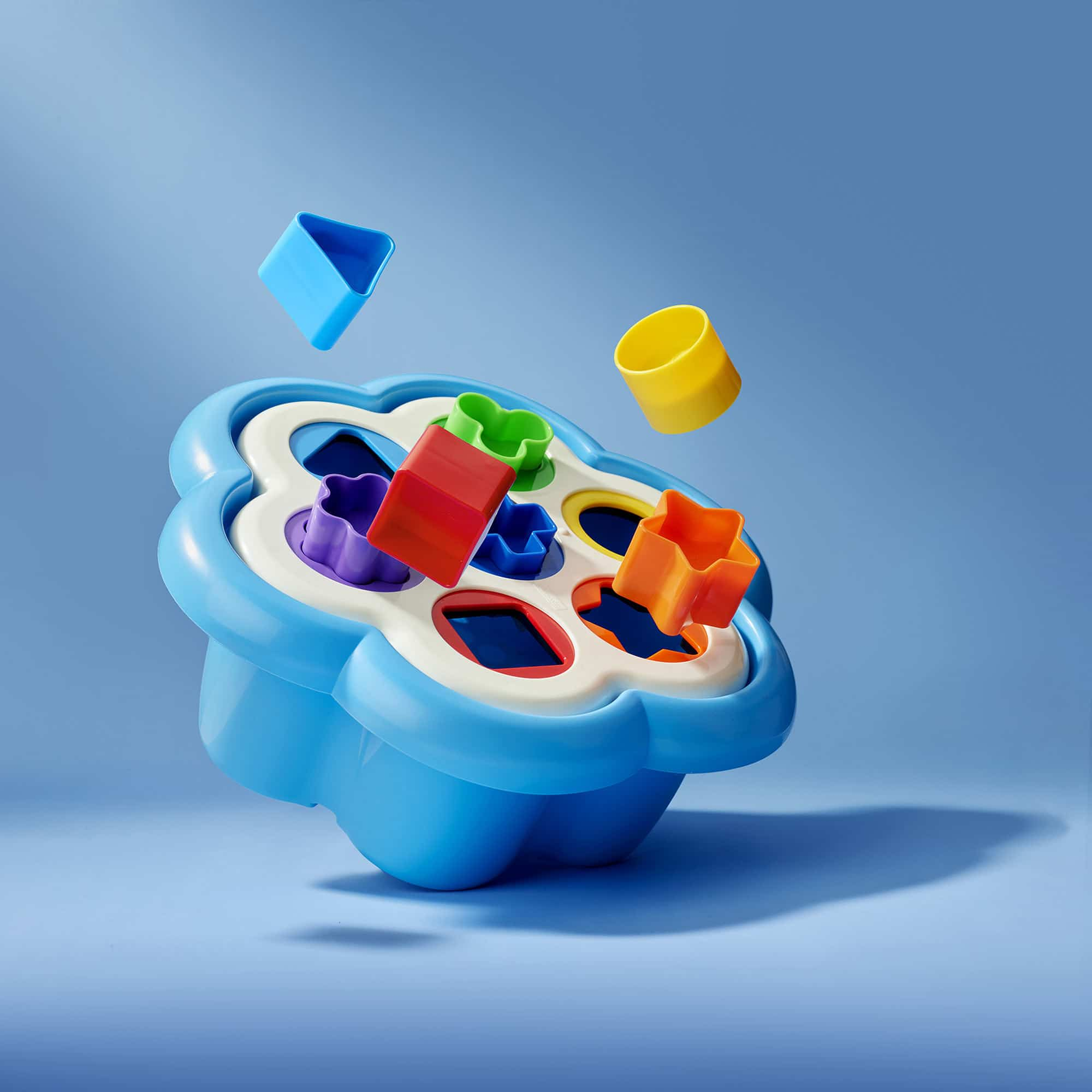 Blue Kids Toy Still Life Shot for Corepla by Fotografando