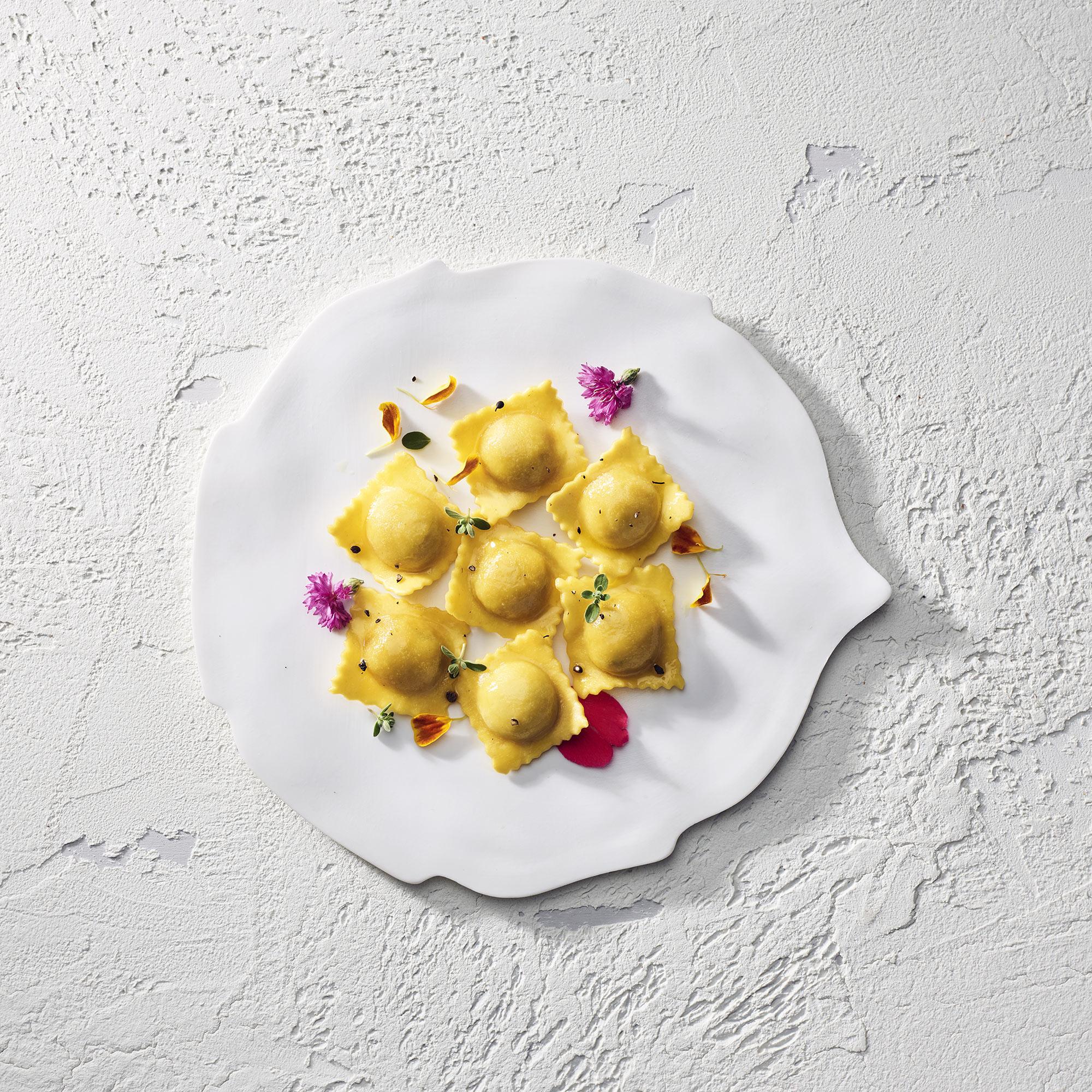 Irinox Piatto Ravioli Tortellini Food Shot by Fotografando