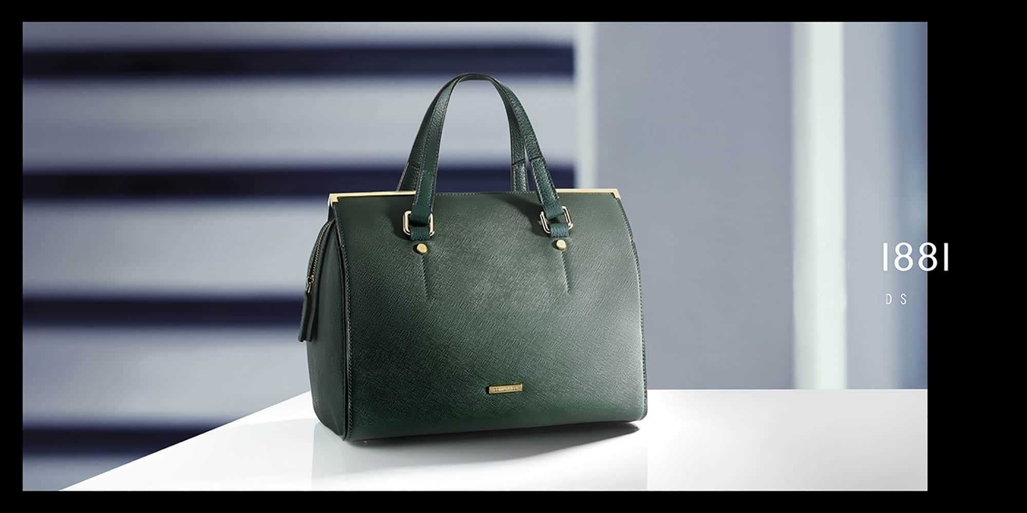 Green Bag Still Life Shot for Cerruti by Fotografando