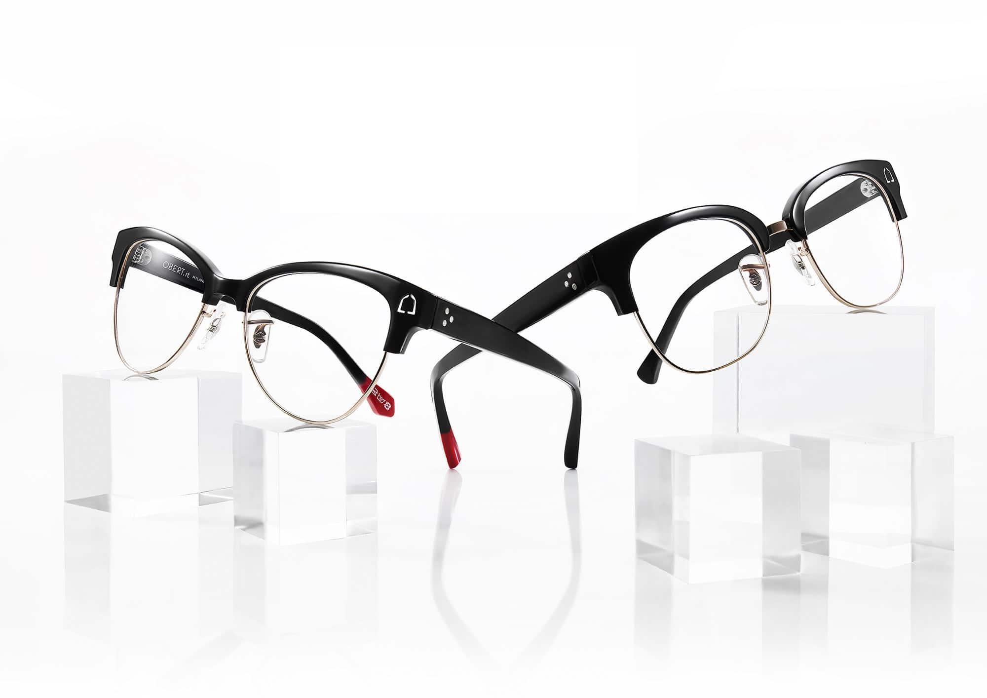 Black Glasses Still Life Shot for Obert by Fotografando