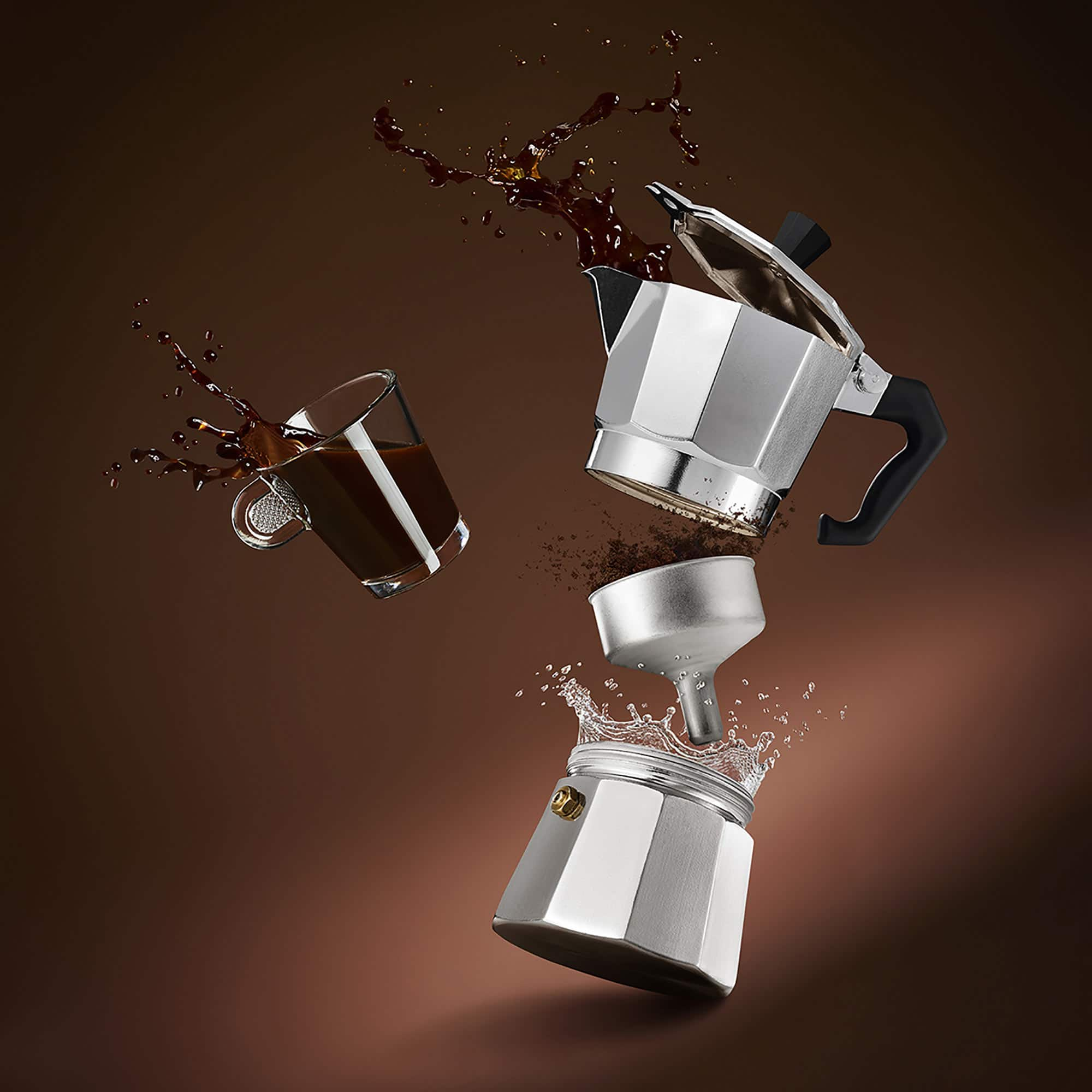 Coffee Moka Still Life Shot by Fotografando