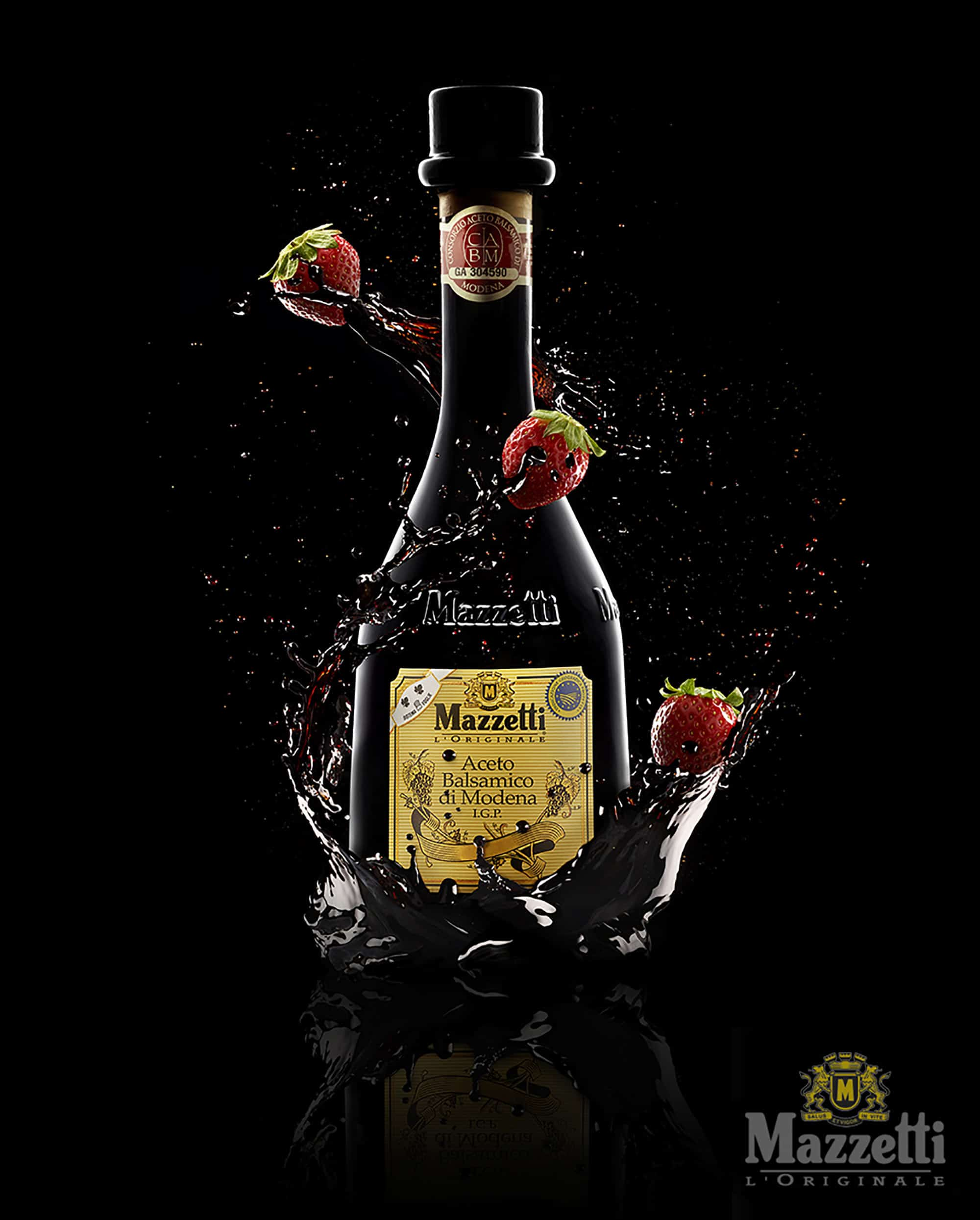 Aceto Balsamico Still Life Shot for Mazzetti by Fotografando