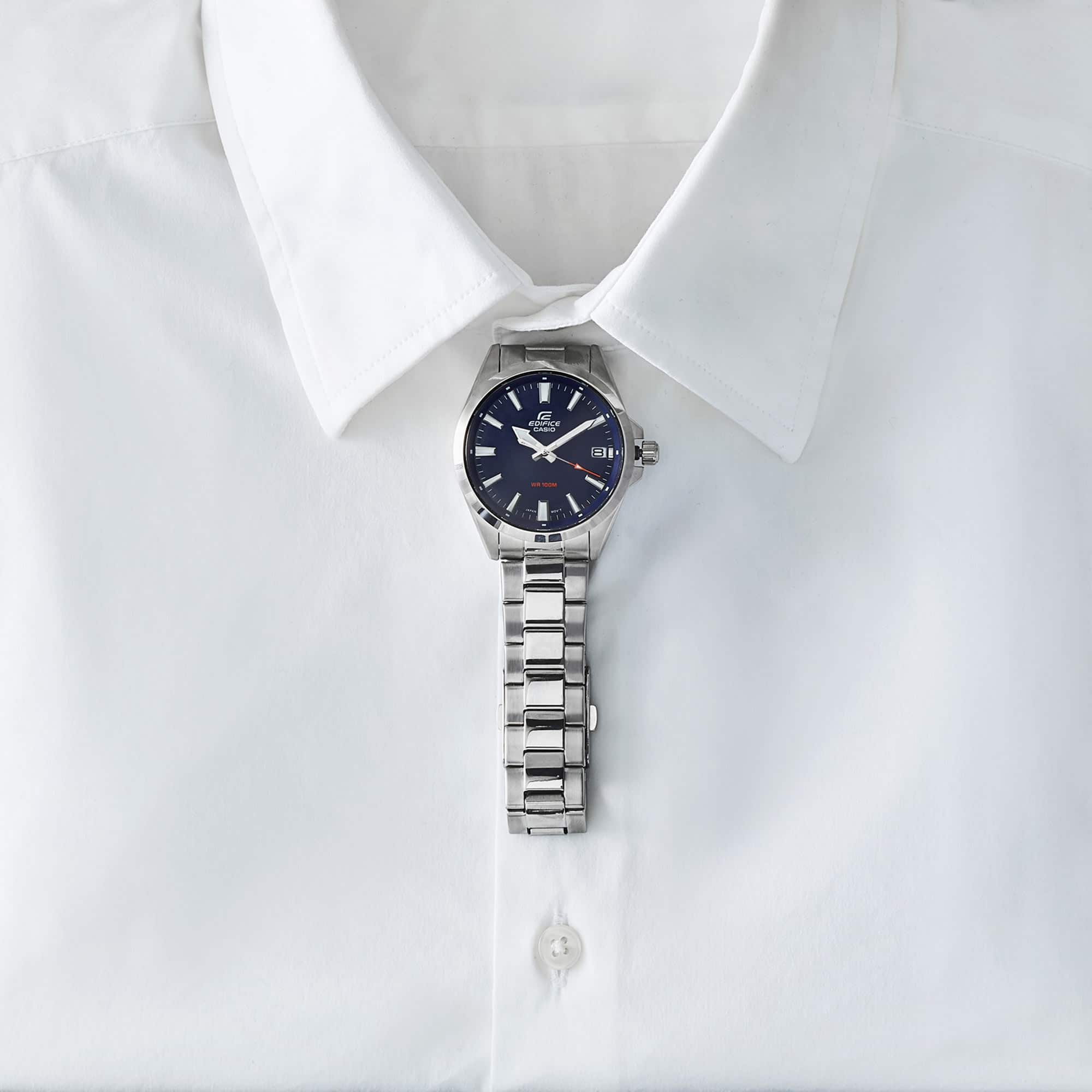 Man White Shirt Still Life Shot for Casio by Fotografando