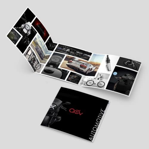 Fotografando Brochure - Automotive