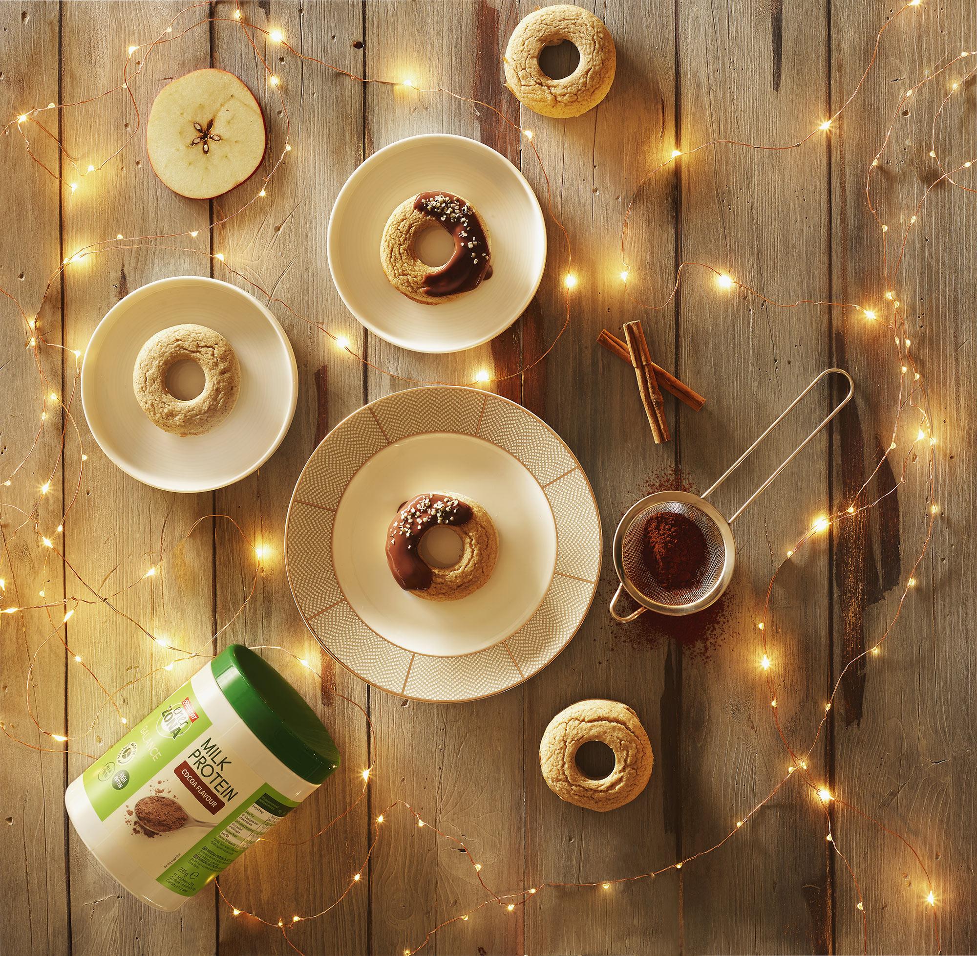 Enerzona Milk Protein Biscotti Food Shot by Fotografando
