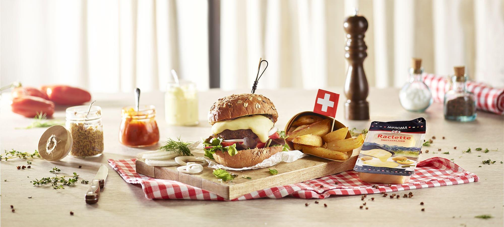 Mifroma Formaggio Raclette Svizzera Food Shot by Fotografando